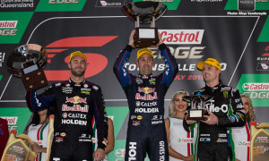 Whincup leads V8 Supercars on the streets of Townsville for Round 7