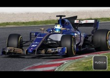 Sauber F1 continues to test their 2017 F1 Challenger