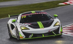McLAREN 570S GT4 Handy on the Road and Track