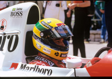 30th Anniversay of Ayrton Senna win at Monaco – TAG Heuer