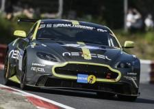 Aston Martin Racing Qualifies 2nd at Nurburgring 24H