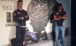 CASIO and Toro Rosso Releases New EDIFICE Smart Watch