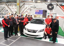 Toyota Australia farewells Aurion after 11 years