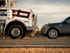 Land Rover Taking On the Aussie Outback