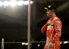 Vettel Farewell's the 2017 F1 Championship in Second Place