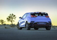 Wraps off on the Veloster N in Detroit